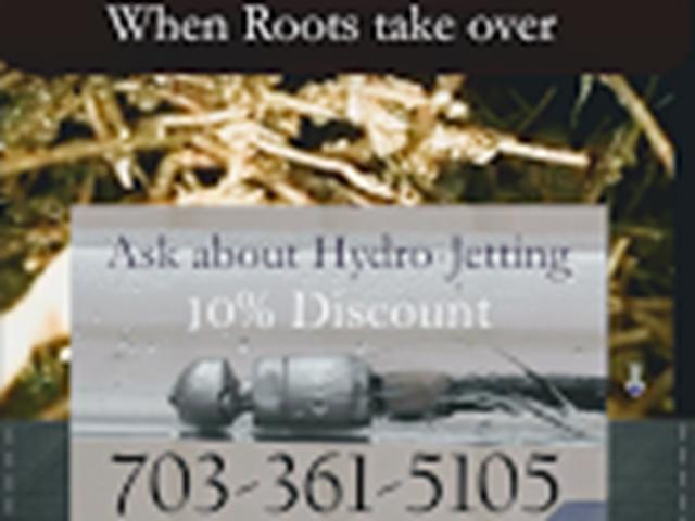 Hydro Jetting 10 percent off